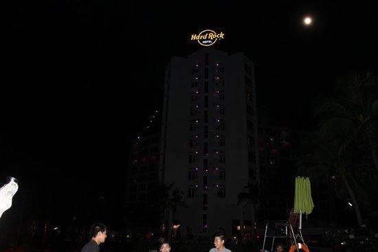 Hard Rock Hotel Pattaya: view from pattaya beach