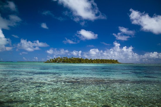 Vahine Island Resort : .vue du motu voisin