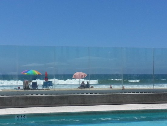 Pier South Resort, Autograph Collection: ocean view from the pool lounge chair!