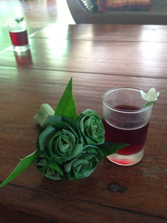 Sofitel Krabi Phokeethra Golf & Spa Resort : Welcome drinks