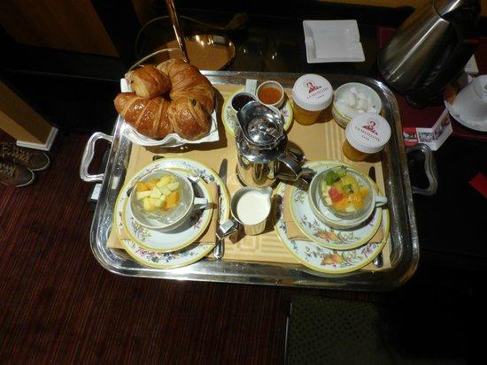 Hotel  La Matelote : Het ontbijt