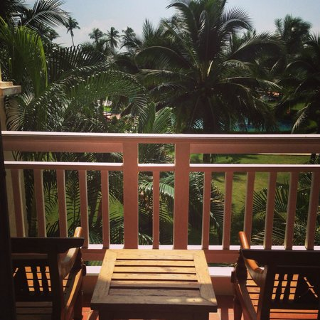 Sofitel Krabi Phokeethra Golf & Spa Resort : Beautiful balcony