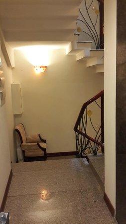 Paradise Boutique Hotel: stairways