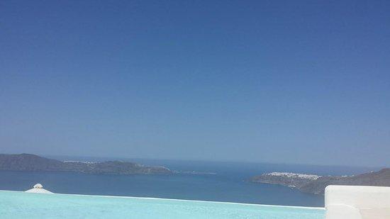 Rocabella Santorini Resort & Spa: View of the sea