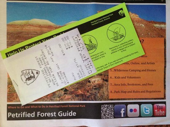 Painted Desert : Not expensive tickets