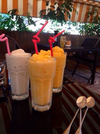 Lost Garden Guesthouse: Perfect smoothies