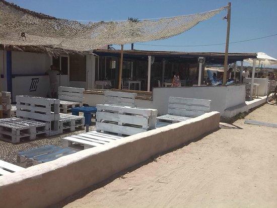 Plage de Ses Illetes : baretto