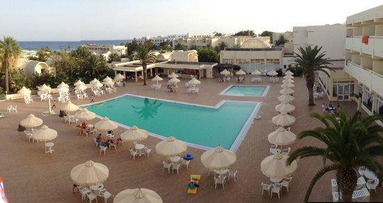 Dar Khayam Hotel : view from room 1139