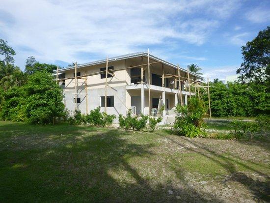 Takamaka Beach Villas: Baustelle auf dem Nachbargrundstück