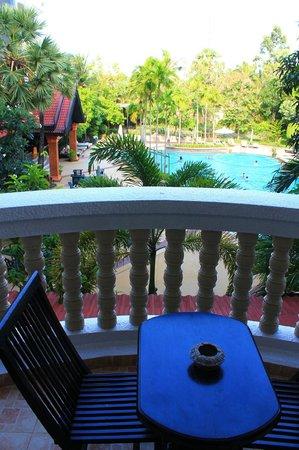 Borei Angkor Resort & Spa: View from Balcony