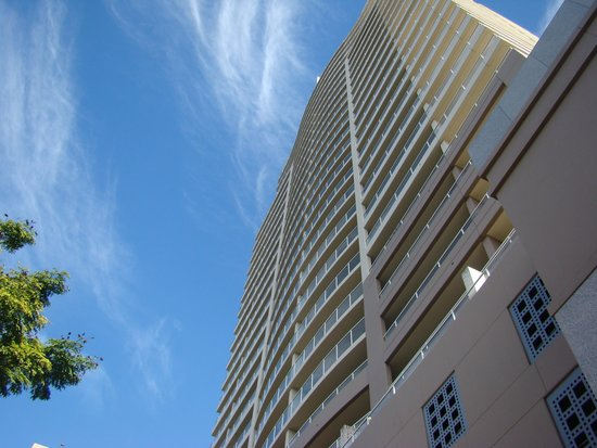 The Sebel Quay West Brisbane : View of Hotel looking up