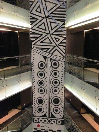 Radisson Blu Hotel, Maputo: Atrium art