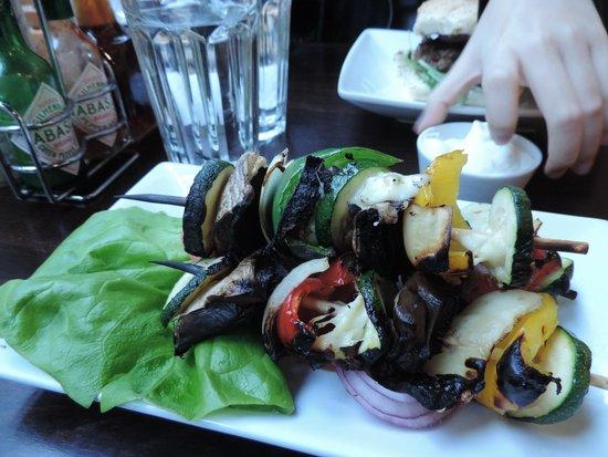 Handmade Burger Co: Vegetables Skewers