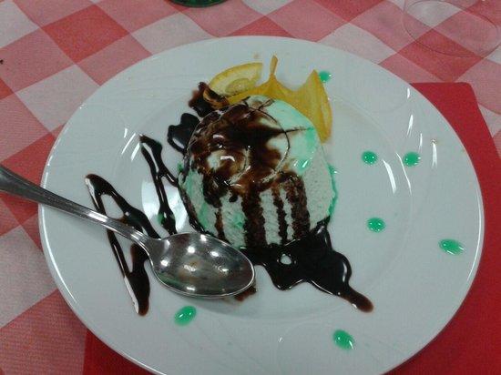 La Rotonda: heerlijk dessert!