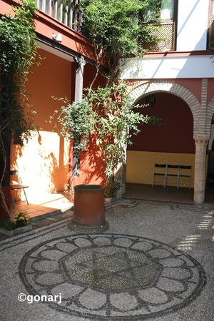 Casa de Sefarad, patio