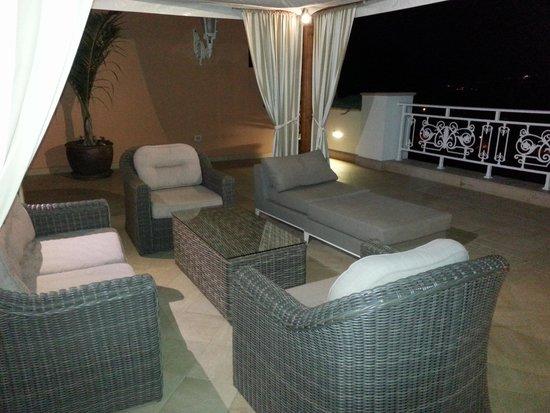 Hotel Riu Garoe : Lounge im Außenbereich