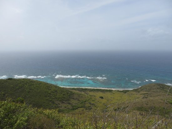 Tan Tan Tours: The view from the eastern part of St. Croix.