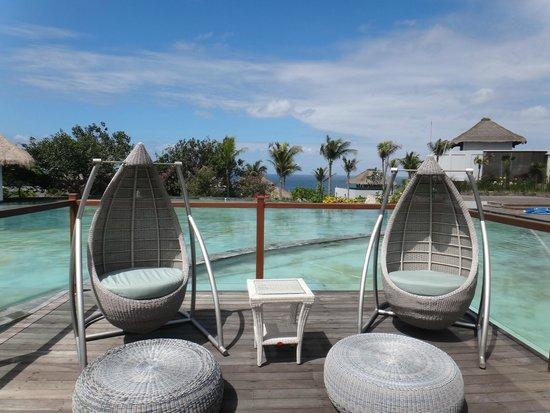 Samabe Bali Suites & Villas: 餐廳的景觀