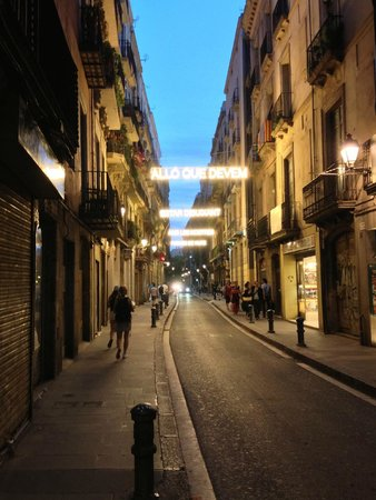 Hotel Curious: carrer del Carme