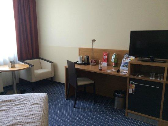 Clarion Congress Hotel Prague : Una habitación grande