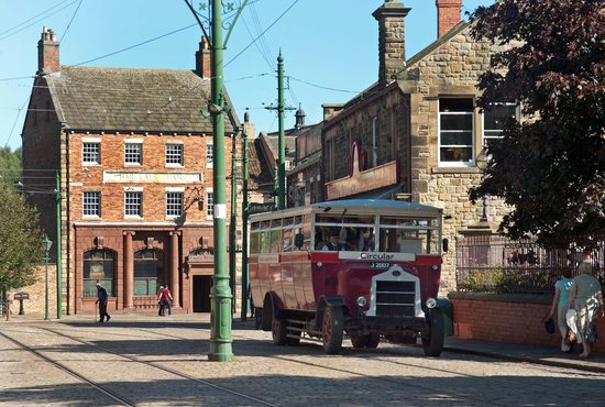 Beamish Museum: The town setting of 1913
