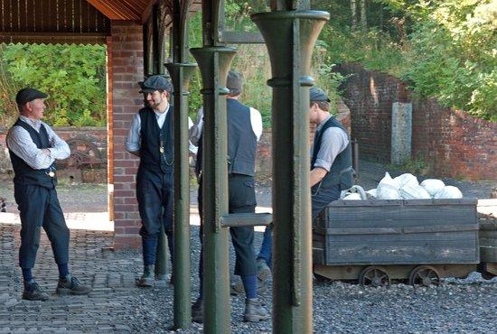 Beamish Museum: Beamish Colliery yard