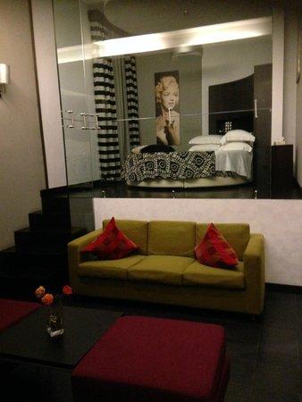 Best Western Cinemusic Hotel: Room 101 (Suite) View of the room