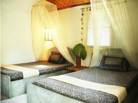 Time For Lime Bungalows: Twin room, beds are 110 cm wide
