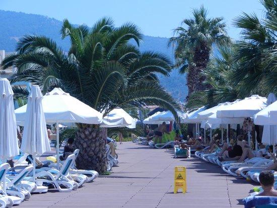 Paloma Pasha Resort : Sur le bord de la piscine