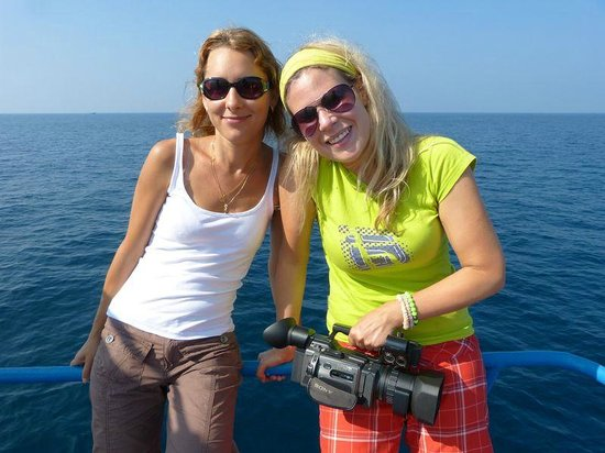 Whale Watching Mirissa with Geeth: Happy ;-)))))))