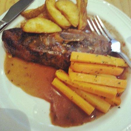 فايكنج هوتل: Food at the Viking Hotel, Blackpool