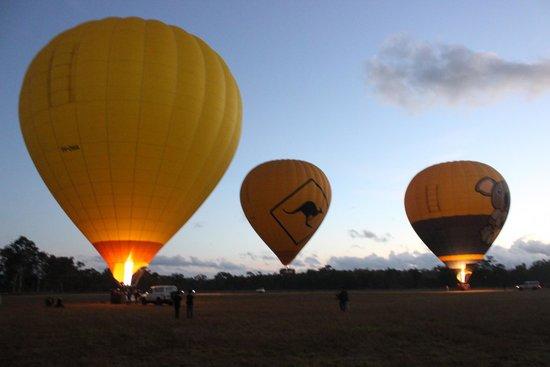 Hot Air Balloon Cairns - Tours : Start of the tour
