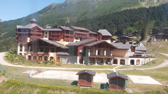 Club Med Valmorel : Le village