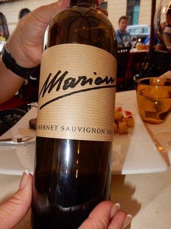 Antica Torretta: marioni cabernet superb !