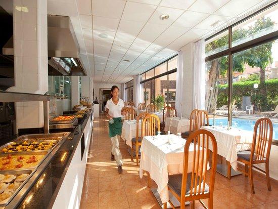 Hotel whala!balmes: Restaurant