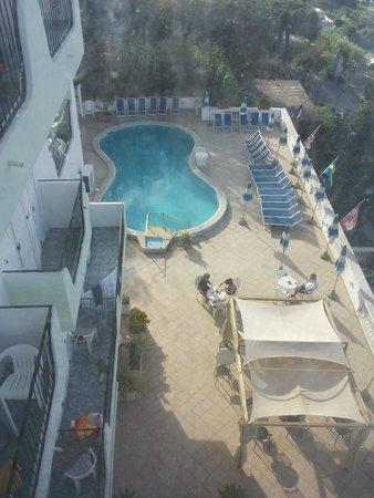 Hotel La Ginestra: Piscina dall'ascensore