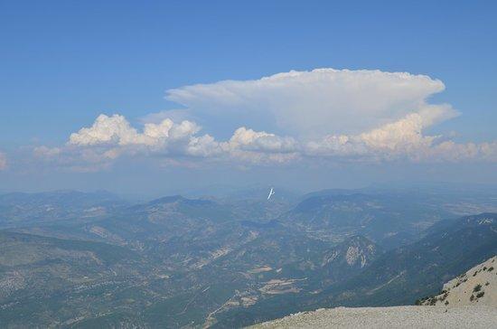 Mont Ventoux : vue pano