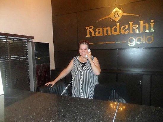 Randekhi Royal Hotel: Answering a call from customer