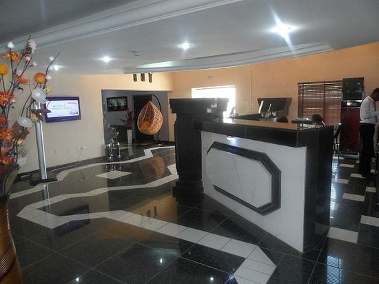 Randekhi Royal Hotel: Gold wing Reception
