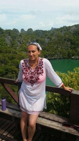 Tours Koh Samui: Изумрудное озеро