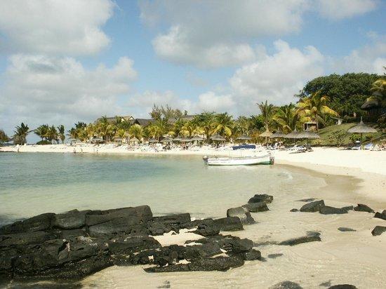 Canonnier Beachcomber Golf Resort & Spa : Plage