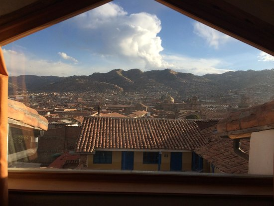 Casa San Blas Boutique: view of cusco day and night