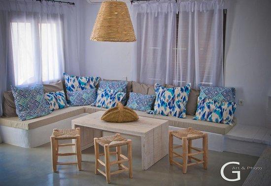 Cabau S'Argamassa Villas: Salon