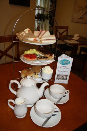 Bryson's Tea Room & Bakery: Our Traditional Afternoon 3 Tier Tea for Two