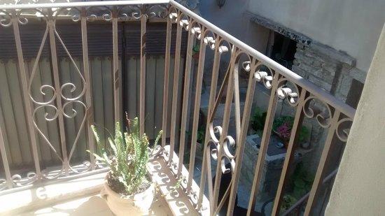 Hotel San Domenico: balconcito de la habitación