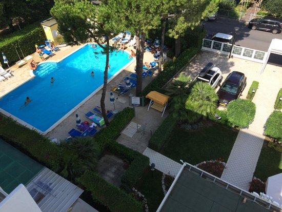 Hotel Bahama: Vista dalla camera 348