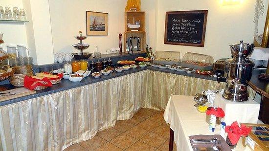 Hotel Belvedere: Frühstücksbüffet 2013