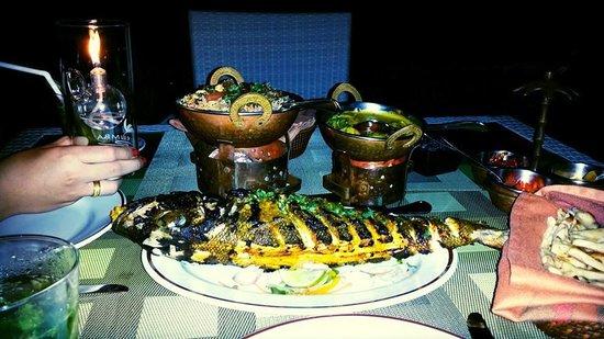 Kurumba Maldives: Dinner @Kurumba Mahal - Indian Restaurant