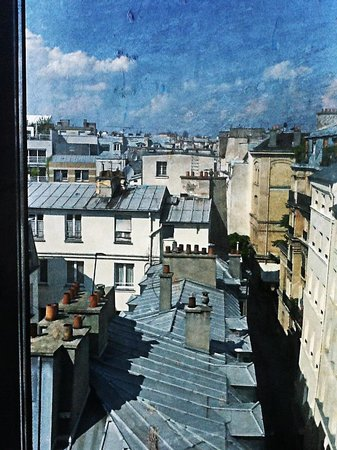 Hotel Jules & Jim : View from bathroom