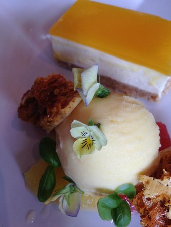 The Manor House: One of the best cheesecakes I've ever tasted.